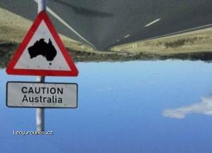 caution australia