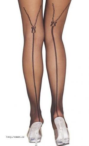 Zippered stockings