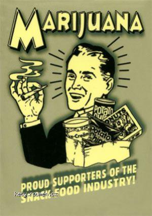 CM52 7EMarijuanaSnackFoodPosters