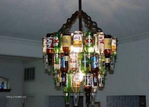 Bottles lamp