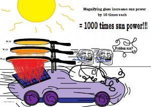 problem sun