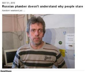 house russian plumber