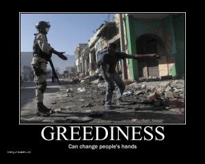 greediness