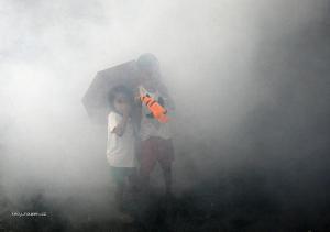 deti a smog