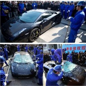Cinsky majitel Lamborghini Gallardo L140 sa nasral na autorizovany servis  urobil antireklamu