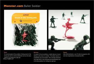 ballet soldier