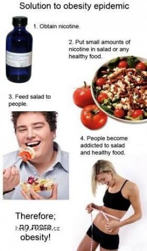 Solution to obesity