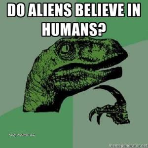 aliens in hum