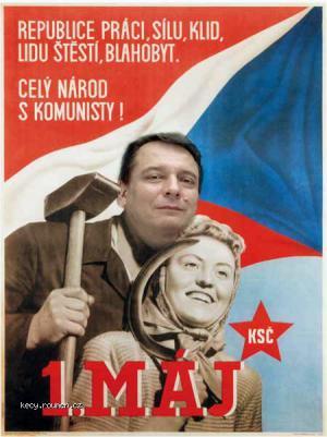 komunisticky plakat2008