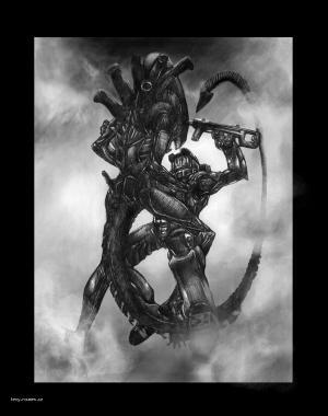 alien versus master chief