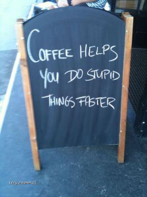 jak je to s kavou