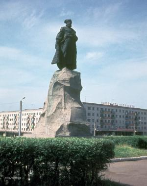Komunismus nas cil  Chabarovsk  dnes