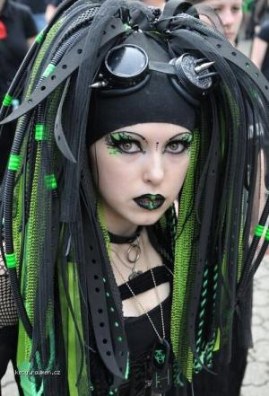 X Hot Goth Chick 2