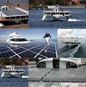 Turanor Solar Boat
