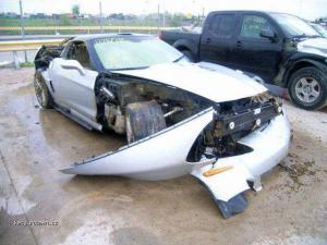 Corvette ZR1 after tornado 1