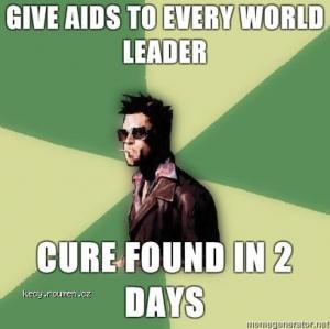 cure for aids