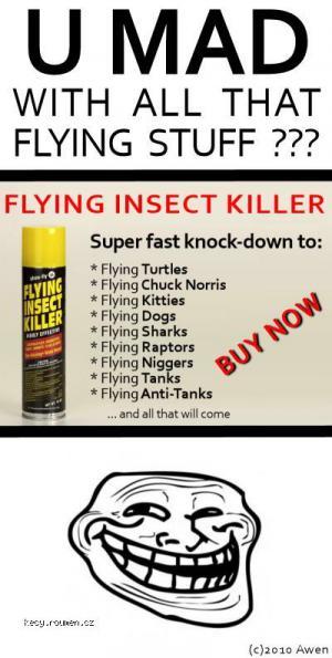flying killer