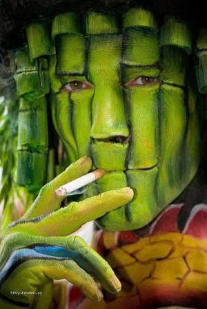 Creative Body Paint Art3