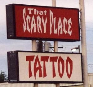 scary place tattoo