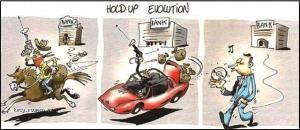 evoluce loupezi