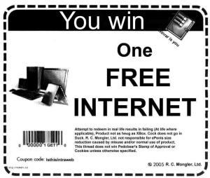 1 free internet