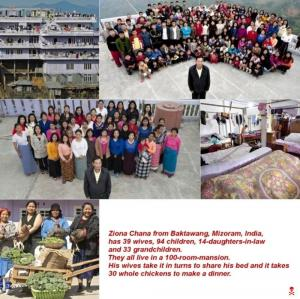 39 Wives94 Children33 Grandchild