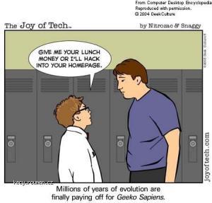Geek bully