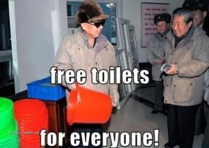 North Korea Free Toilets