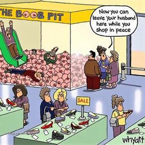 The boob pit