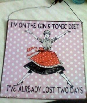 Gin And Tonic Diet