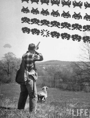 Z historie Alien hunt