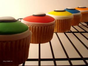 Guitar hero cupcakes