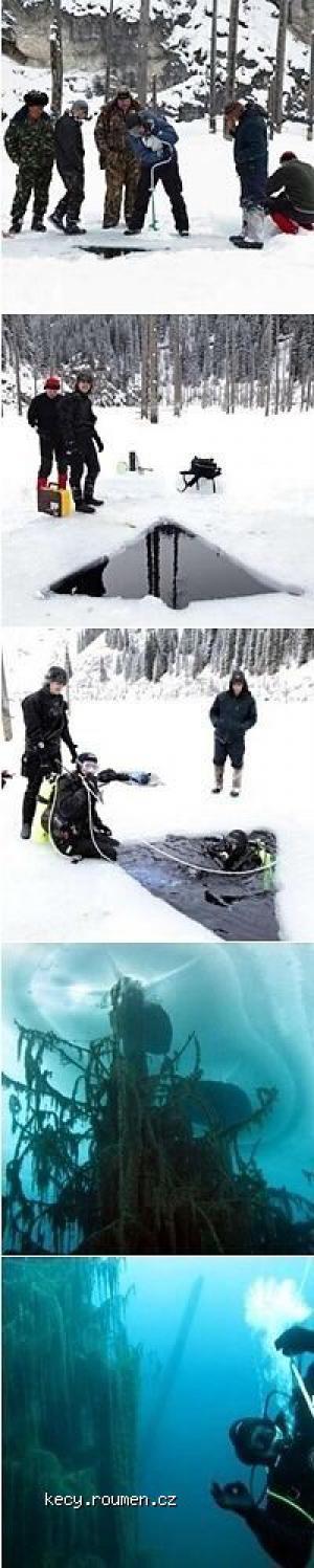 Weird Ice Divers