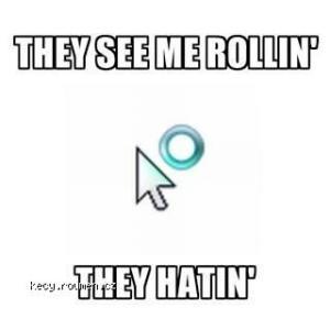 wait cursor rollin hatin