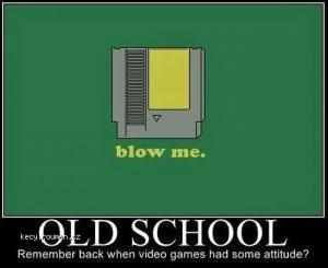 Old School Blowing