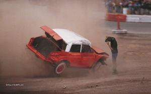 carlos miamiat the demolition derby