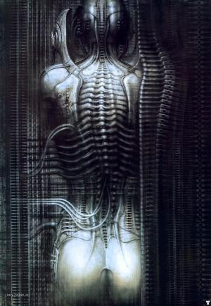Giger newyorkcity VI torso