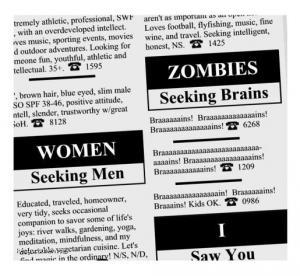 zombies seeiking brains