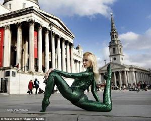 Astonishing Rubber Girl Zlata Conquers London1