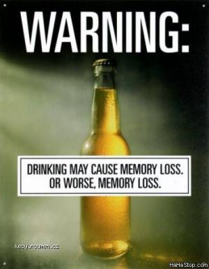 Drinking Warning