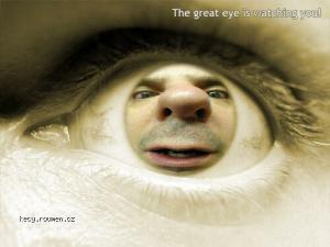the great EYE is watching U