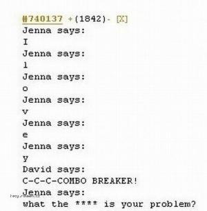 X Jenna says