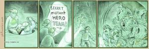 Secret Mutant Hero Team