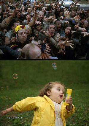 Zombies vs Yellowgirl
