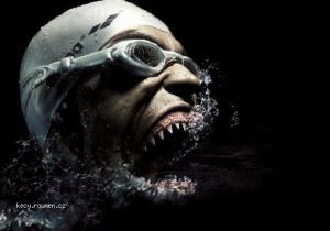 human shark