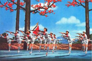 balet s flintou