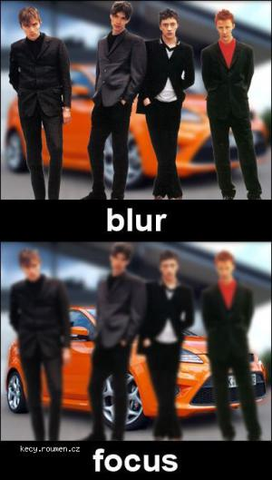Blur vs