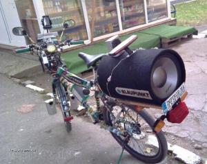 Audio pre bike