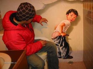 grafity na zachodku