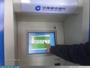 solitare na bankomatu